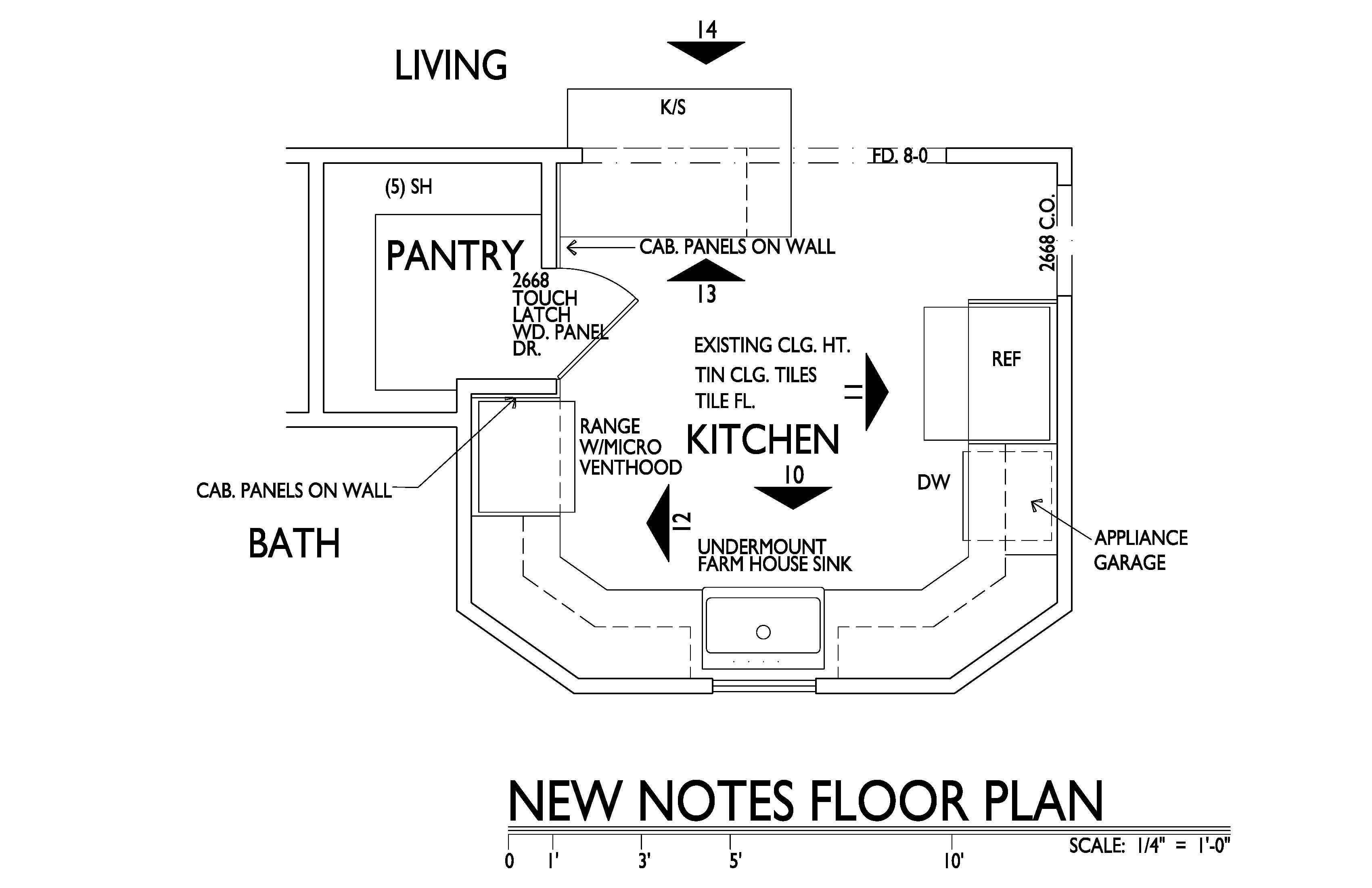Kitchen Floor Plan kitchen floor plan ~ peeinn
