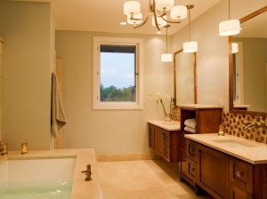 Texas Hill Country Contemporary-Master Bath