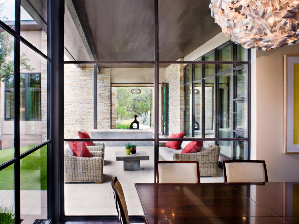 Spanish Oaks Contemporary House