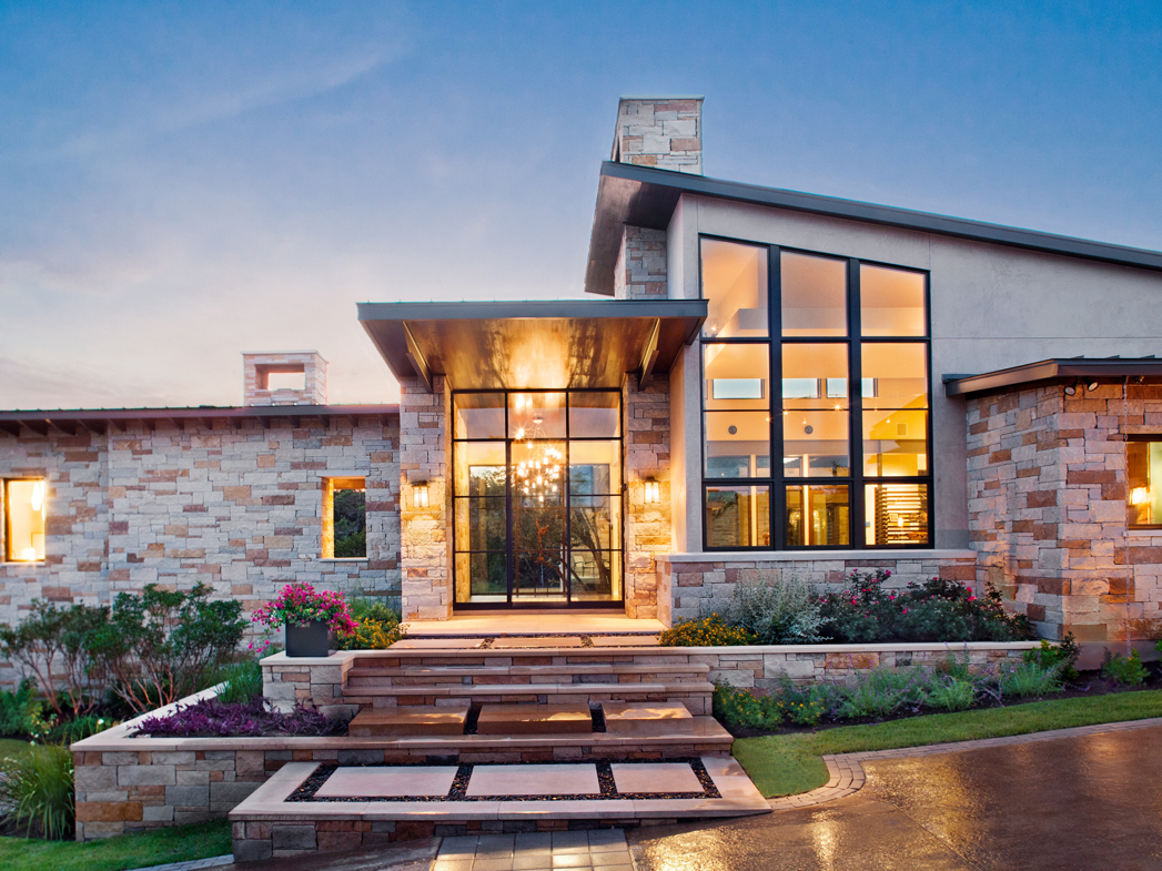 Spanish Oaks Contemporary House