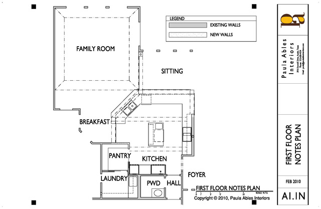 Kitchen Remodel New Floor Plan