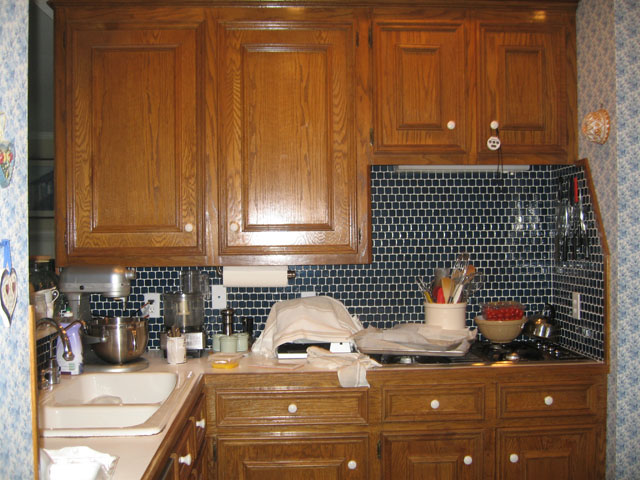 Before Kitchen-Cooktop