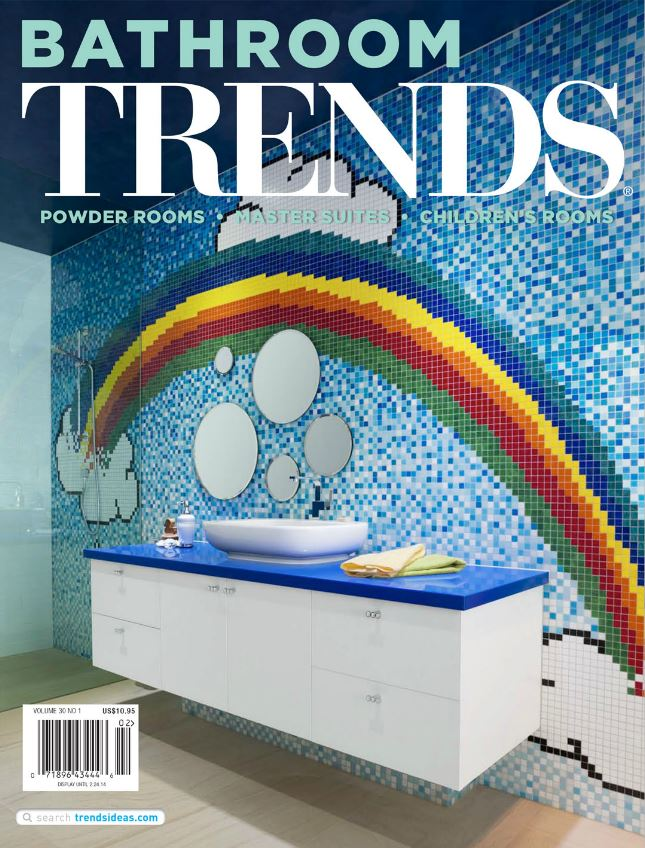 Bathroom Trends Magazine 2014 Paula Ables Interiors