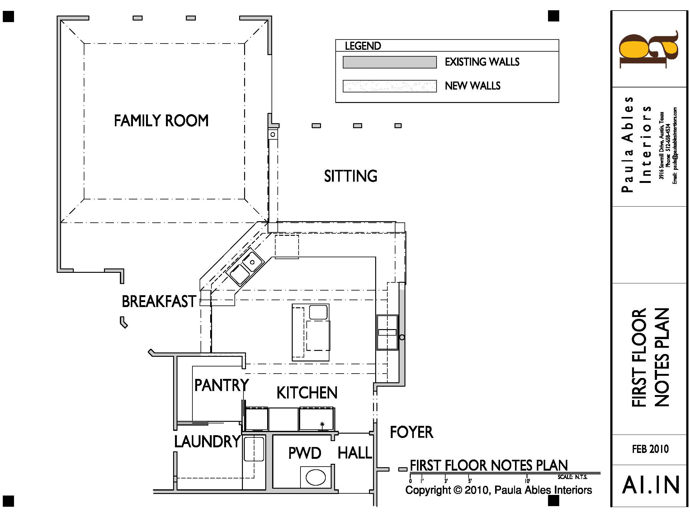 Musta Kitchen Remodel New Floor Plan