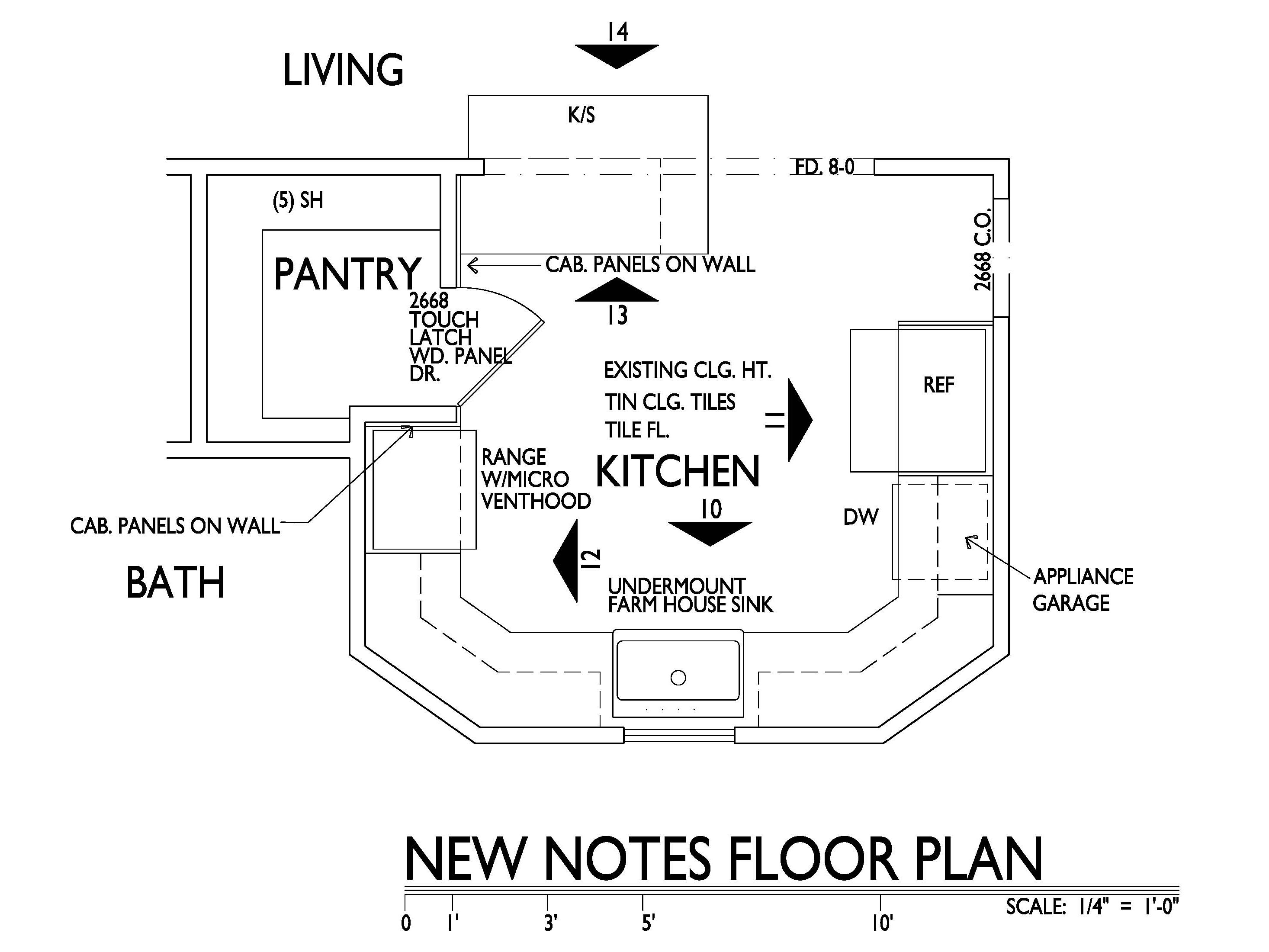 Grandma's Kitchen New Floor Plan