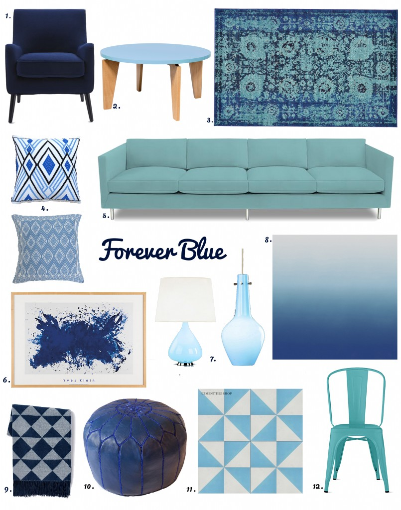 Just Blue Accents-with numbers