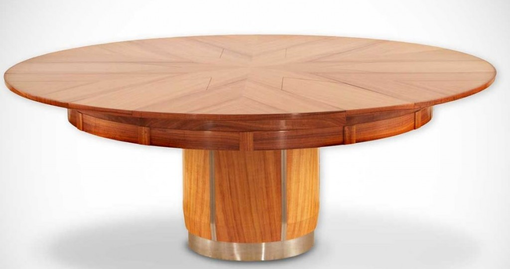 5 favorite dining tables of 2015 paula ables interiors for Rotating dining table