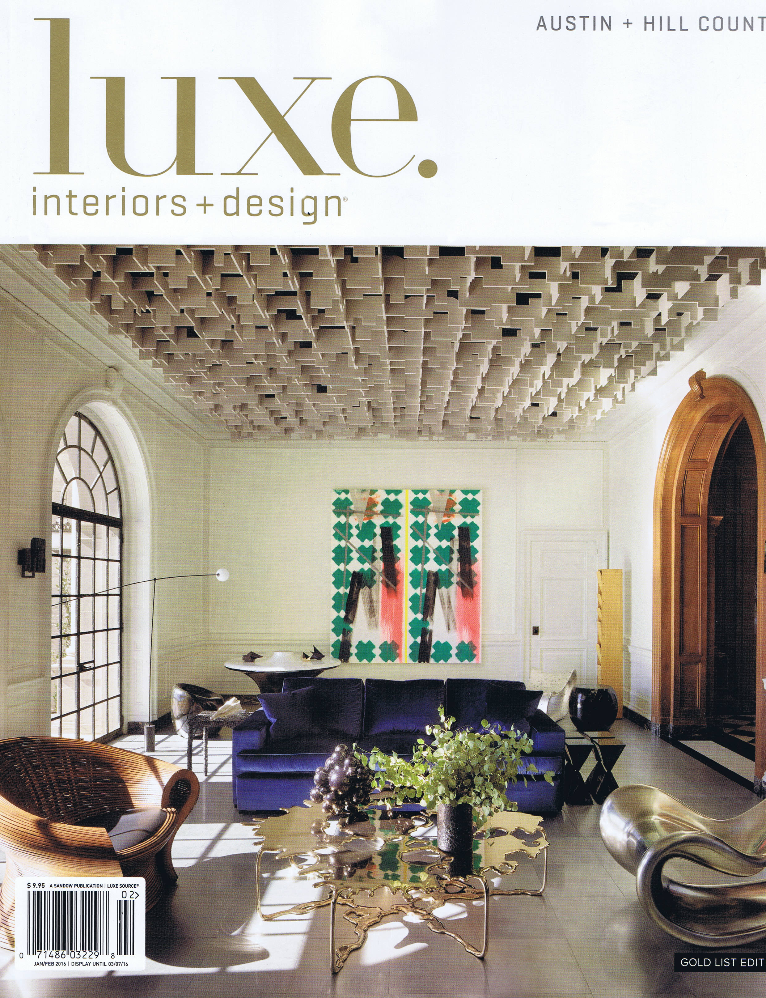 Luxe Gold List Cover