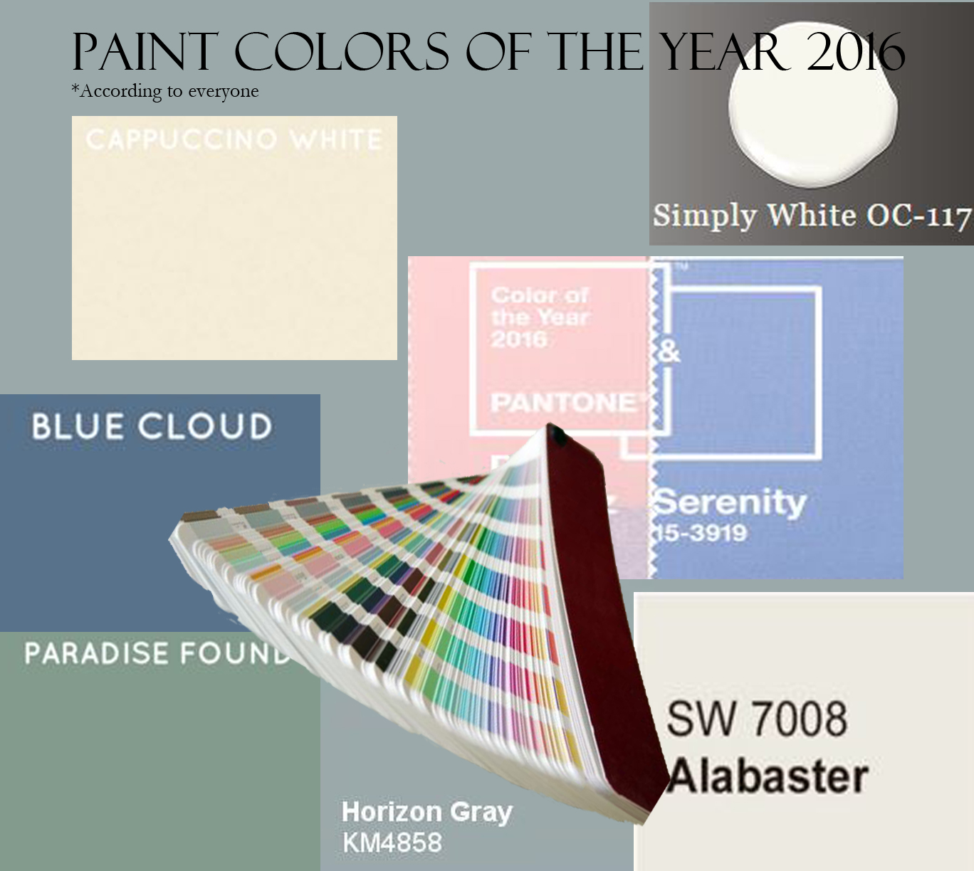 Paint Color Of The Year All Of Them Paula Ables Interiors