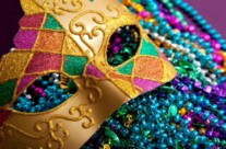 Come see the Colors of Mardi Gras