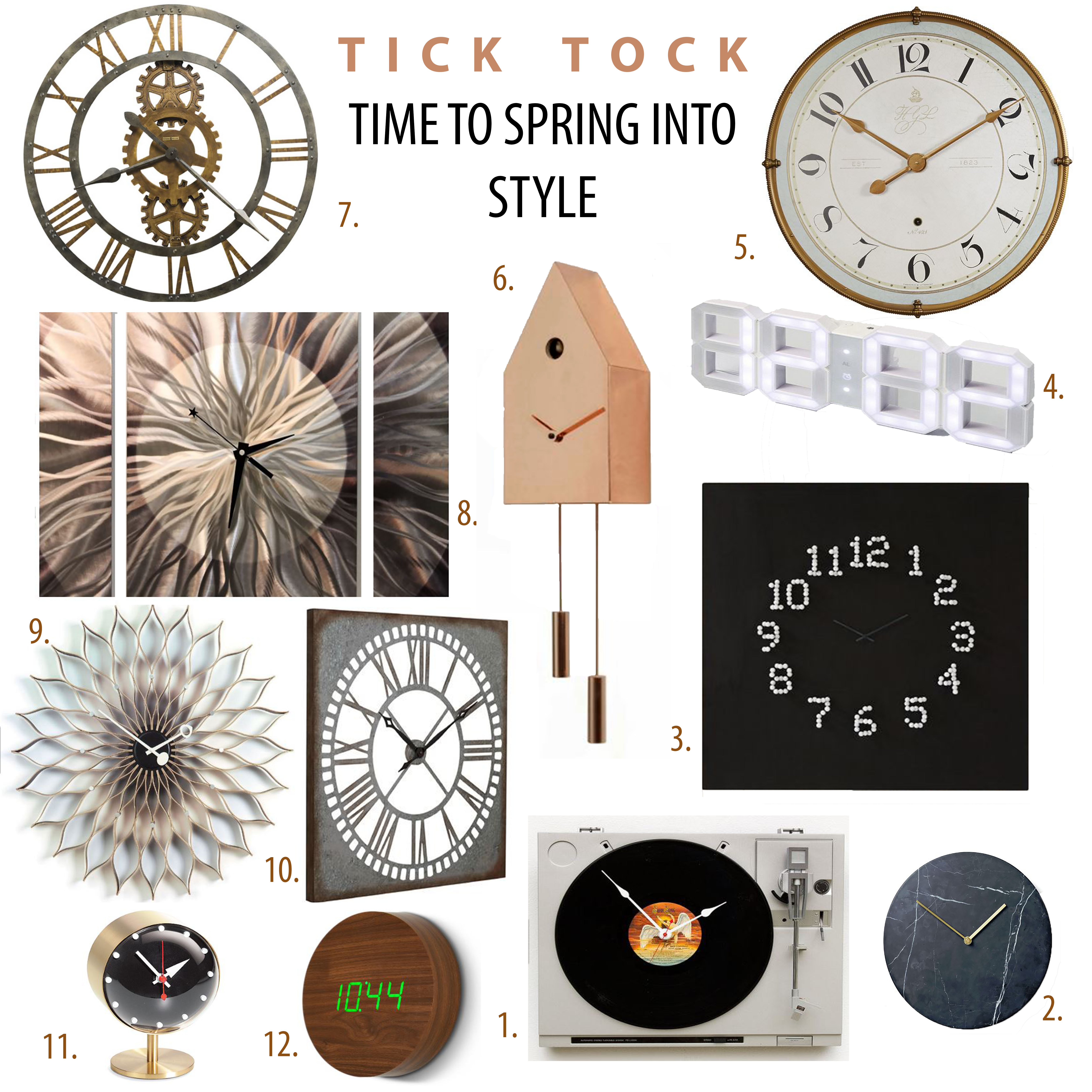 Time to Spring into style