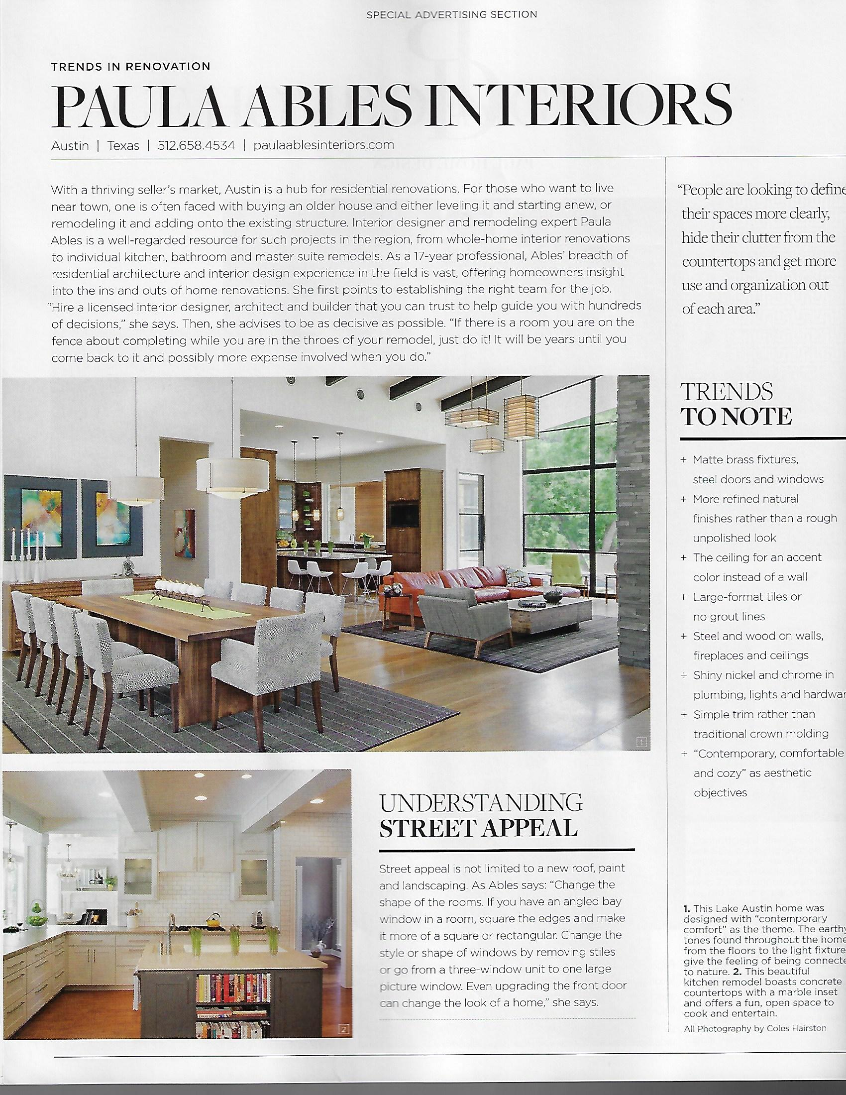 Luxe Magazine Cover Renovation