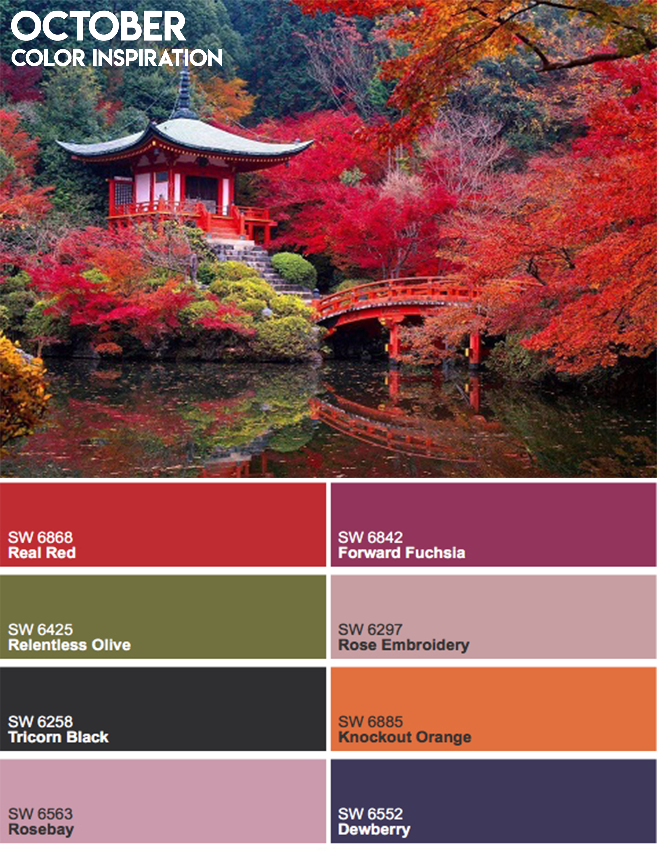 October Color Inspiration In Kyoto Japan Paula Ables Interiors