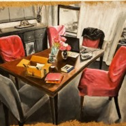 When Art reflects Life in Action-The Dining Room