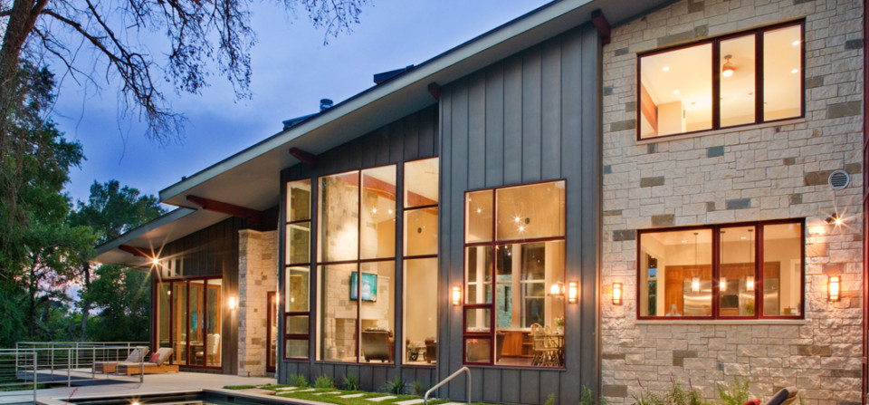 Hill Country Contemporary House