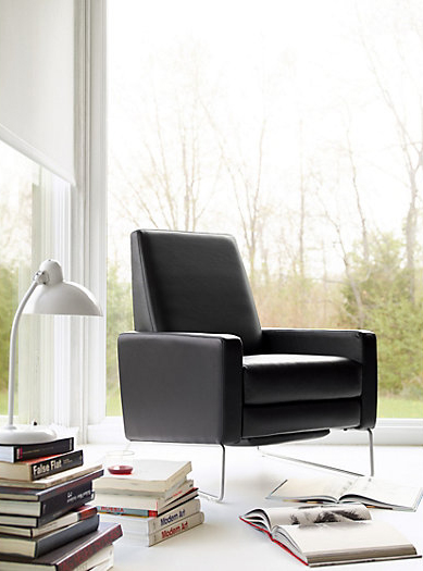 Dwr Dad We Love This Design Because It Doesn T Even Look Like A Recliner But Yet Can Lean All The Way Back And Comes In Multiple Fabrics Colors