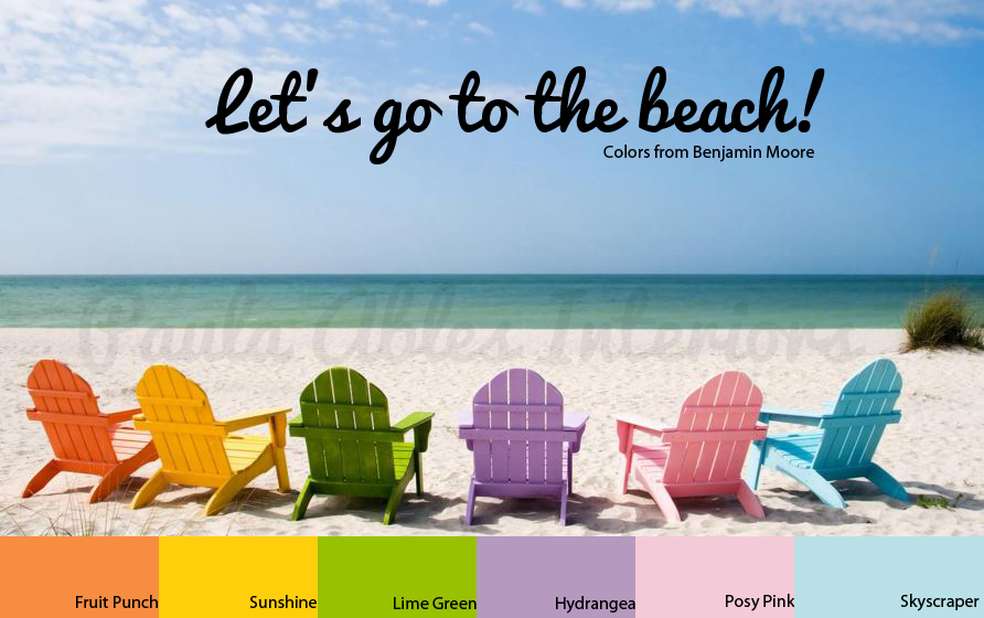 Let S Go To The Beach Colors